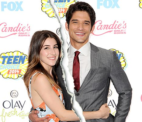 "Tyler Posey, Fiancee Seana Gorlick Split: Couple Ends Engagement - Us Weekly We have broken up,"" he told Us at the ASPCA Cocktail Event in honor of Kaley Cuoco-Sweeting and Nikki Reed in the Bel Air neighborhood of L.A., on Wednesday, Oct. 22. ""I'm just gonna get it out there because I get sad talking about it. I'm just gonna get it out there now so that hopefully people start hearing about it."""