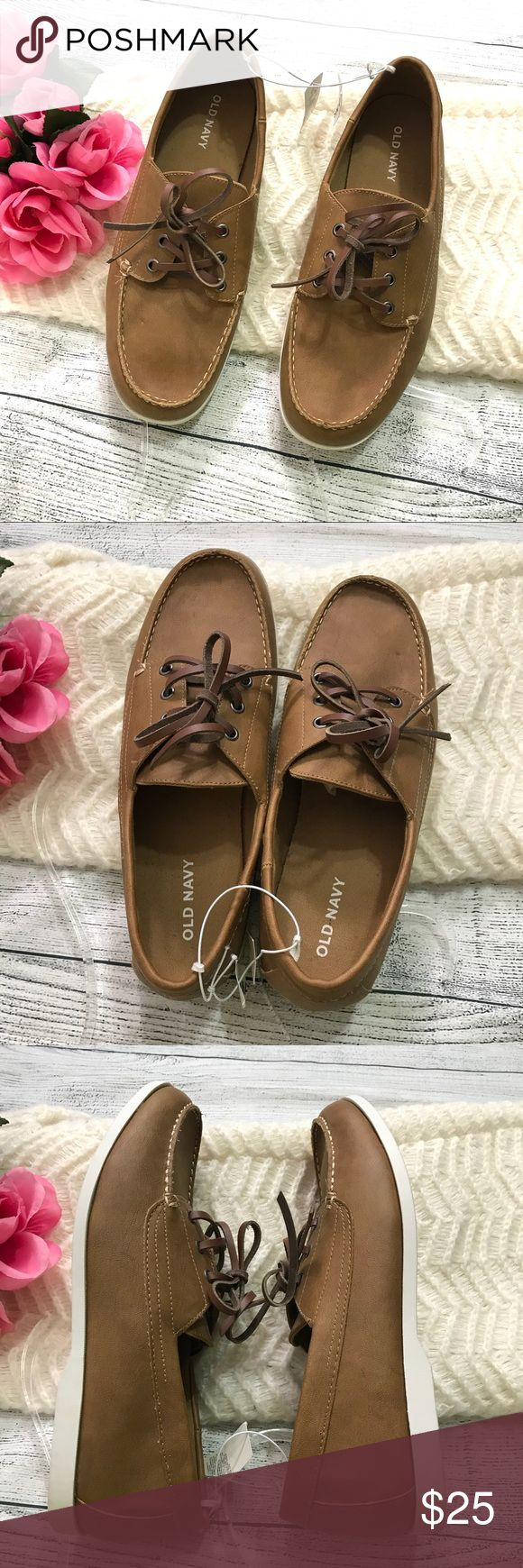Old Navy Brown Boat Shoes Brand New Sz 10 Old Navy Brown Boat Shoes Brand New Sz 10  New with tags Old Navy Shoes Boat Shoes