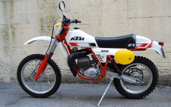 KTM 125 Enduro Sport