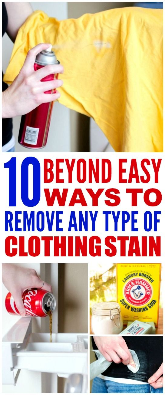 25 best ideas about stain removal clothing on pinterest stain removers stains and laundry - How to remove rust stains from clothes in a few easy steps ...