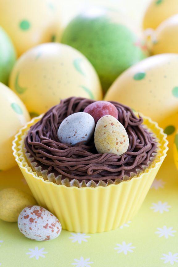 #Easter cupcake