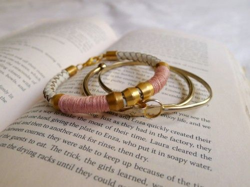 72 best diy jewelry accessories images on pinterest barrel cool diy leather bracelet solutioingenieria Images