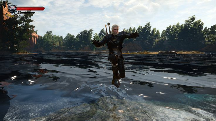Jump in Shallow Water at The Witcher 3 Nexus - Mods and community