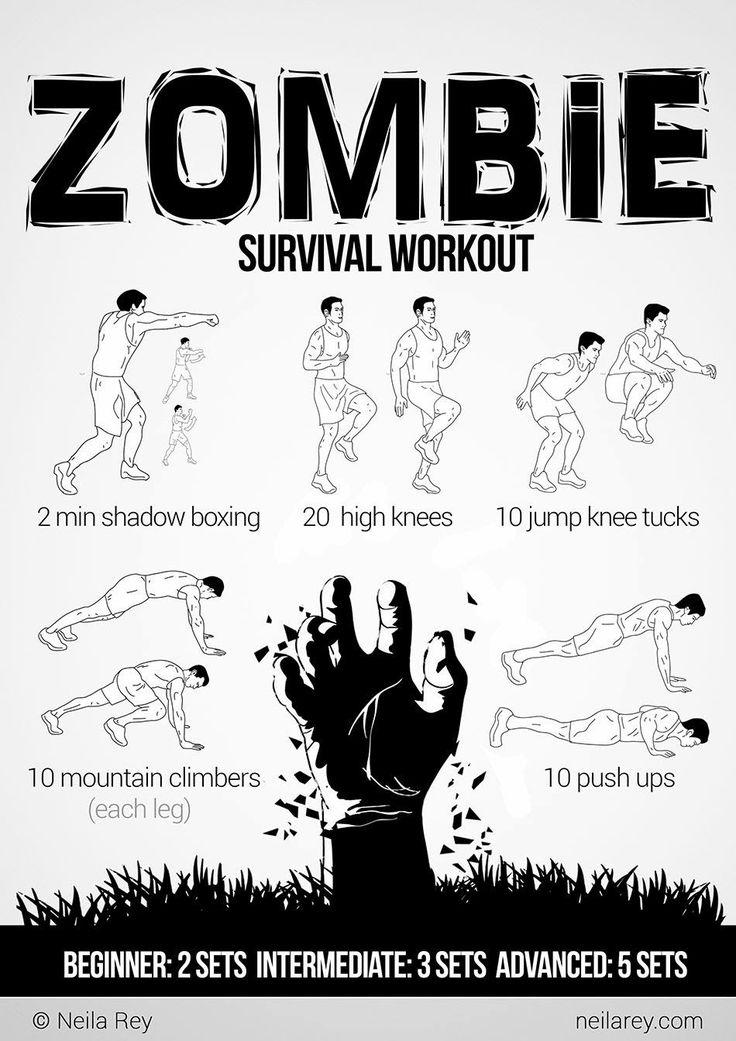 Zombie Survival Workout - http://www.dravenstales.ch/zombie-survival-workout/
