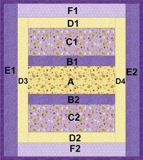 """Reversible """"Quilt-As-You-Go"""" Crib or Lap Quilt: 'Project Linus' Easy Strip Quilt ~ easy-to-sew, reversible """"quilt-as-you-go"""" design.  NICE and if you are needing a 'quick' crib or lap quilt, this is the way to go.  You can even make a doll quilt too!"""