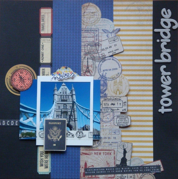 Towerbridge Check Inn collectie Kaisercraft