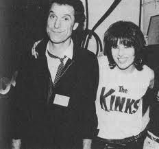 Chrissie Hynde & Ray Davies