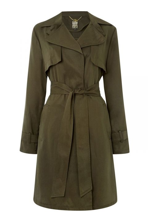 Biba Lightweight Premium Button Detail Mac At The House Of Fraser, £149