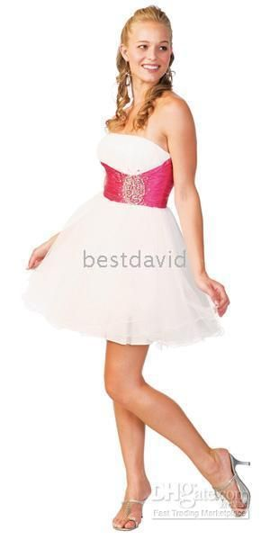 2010 Debenhams Sexy Strapless Two Tone Tulle Skirt Prom Dress Uk N2301 Cocktail Dresses Custom Made Special Occasion Dresses Beautiful Dresses From Bestdavid, $80.39| Dhgate.Com