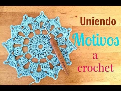 Cómo hacer y unir MOTIVOS redondos al crochet.häkeln.ganchillo.uncinetto, My Crafts and DIY