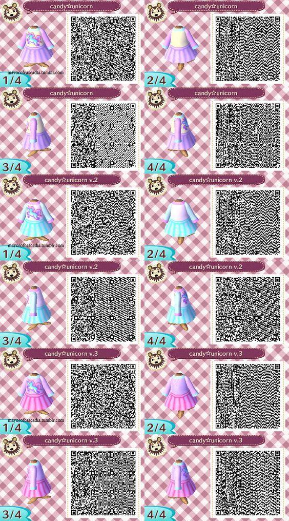 Candy unicorn dress - pastel sweater and skirt