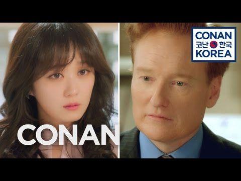 Team Coco: Conan Guest Stars In A Korean Soap Opera