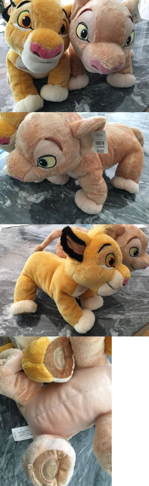 Lion King 44037: New The Lion King Simba And Nala Plush Toy Disney Store Stuffed Animal Nwt -> BUY IT NOW ONLY: $39.95 on eBay!
