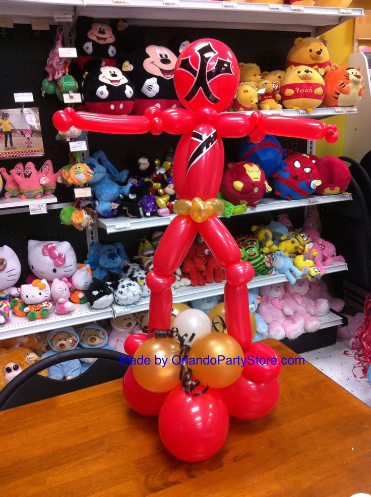 Balloon Power Ranger