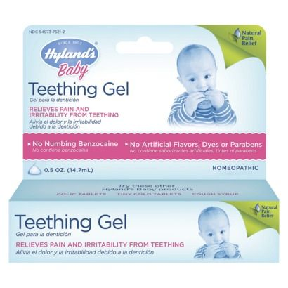 Hyland's Baby Teething Gel. $5.99