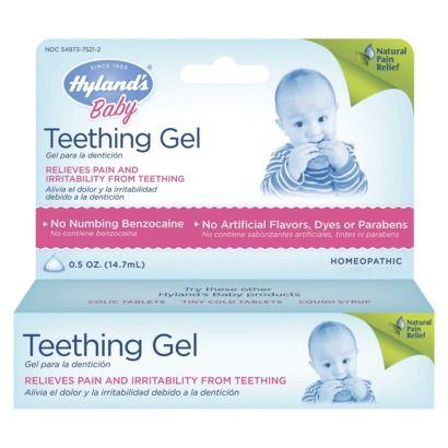 Hyland's Baby Teething Gel. $5.99