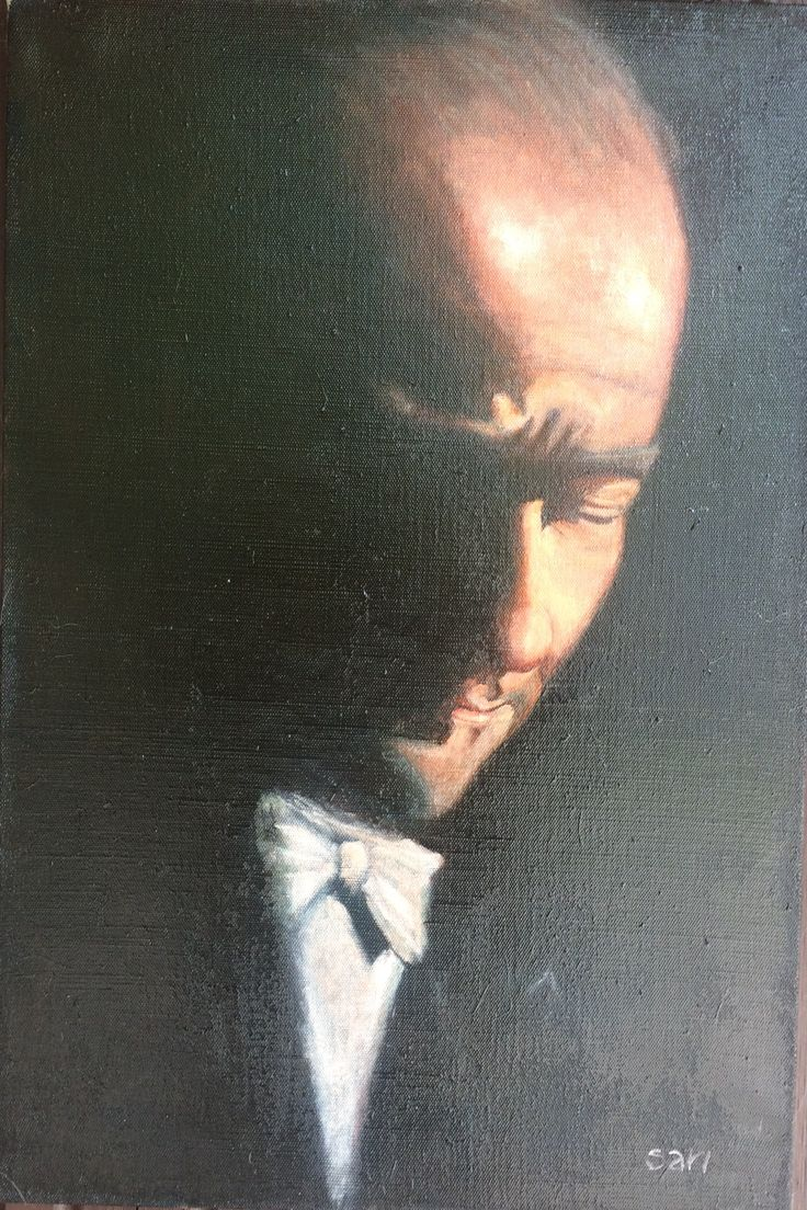 Mustafa Kemal Atatürk 60 x 40 cm oil on canvas With permission Rüzgar Fidan