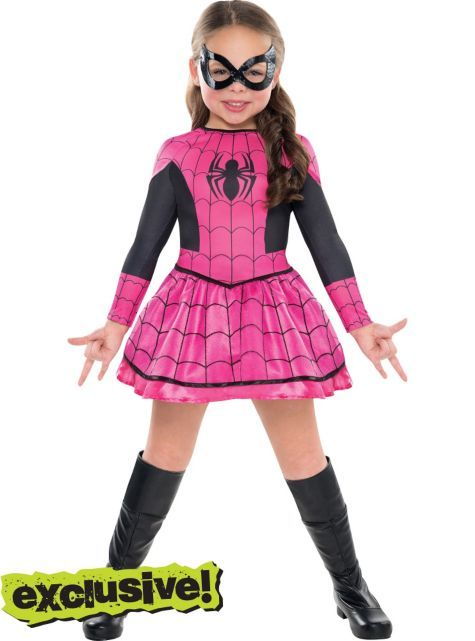 Girls Spider-Girl Costume - Party City (in case I get lazy).