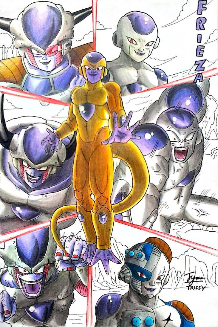 Frieza S Evolutions By Trissygabriel Dragon Ball Super Manga Dragon Ball Super Dragon Ball