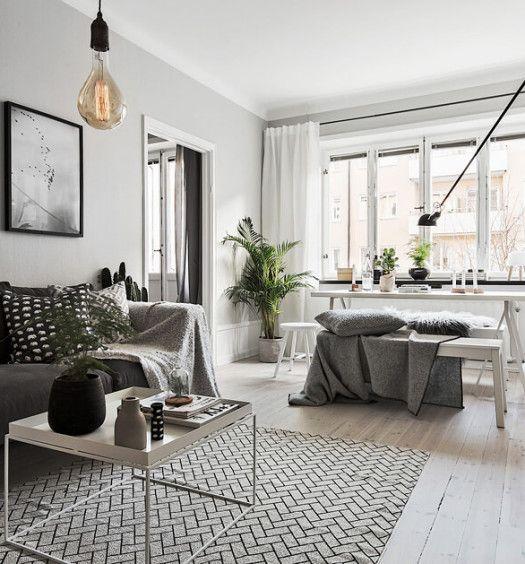 Wohnzimmer Einrichtungsideen Grau ~ WohnzimmerEinrichtungsideengraumodern  interior  Pinterest