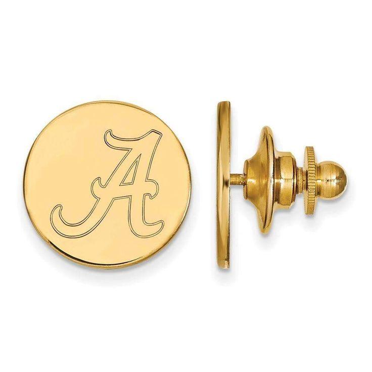 14ky LogoArt University of Alabama Lapel Pin