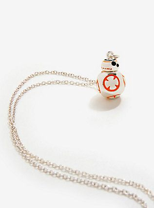 Star Wars BB-8 Sterling Silver Plated Necklace,