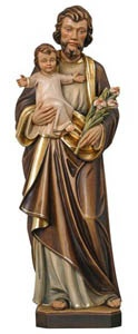 St. Joseph statue - my mom used to put letters under a st.Joseph statue of special intentions and they NEVER went unanswered!