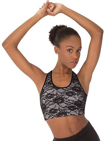 Children's Racer-back Lace Bra - Body Wrappers