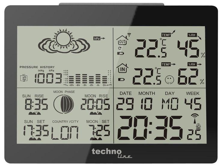 Regalos de Navidad originales. Estaciones meteorológicas para todo el mundo. Son útiles, bonitas y económicas.