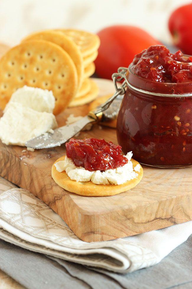 Easy Tomato Jam | TheSuburbanSoapbox.com