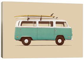 Blue VW Van by Florent Bodart (Giclee Canvas) https://api.shopstyle.com/action/apiVisitRetailer?id=523261586&pid=uid8100-34415590-43