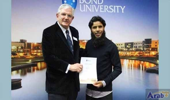 Omani student in Australia awarded for academic excellence