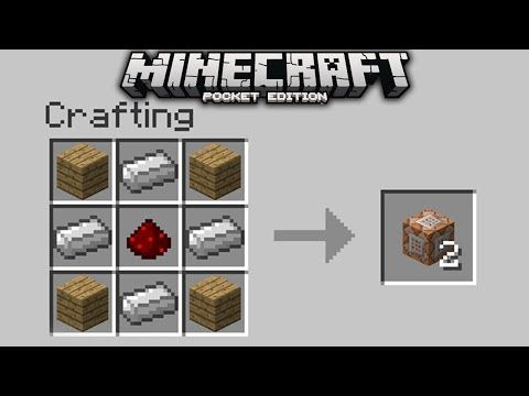 Things you can craft in minecraft | There should be a crafting