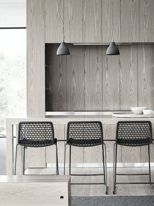 #interiors #design #barstools #kitchen #dining spaces #modern