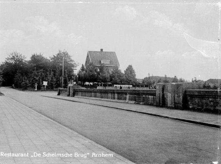 De Schelmseweg in 1920