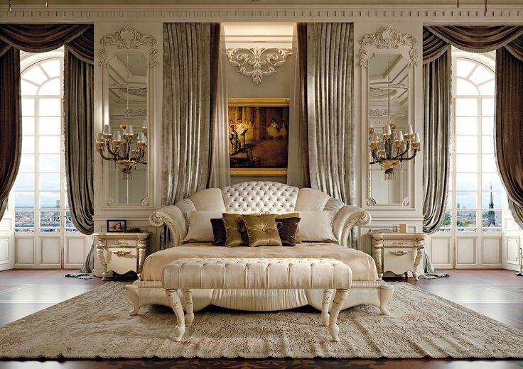 Prestige Collection http://www.turri.it Classic luxury bedroom furniture