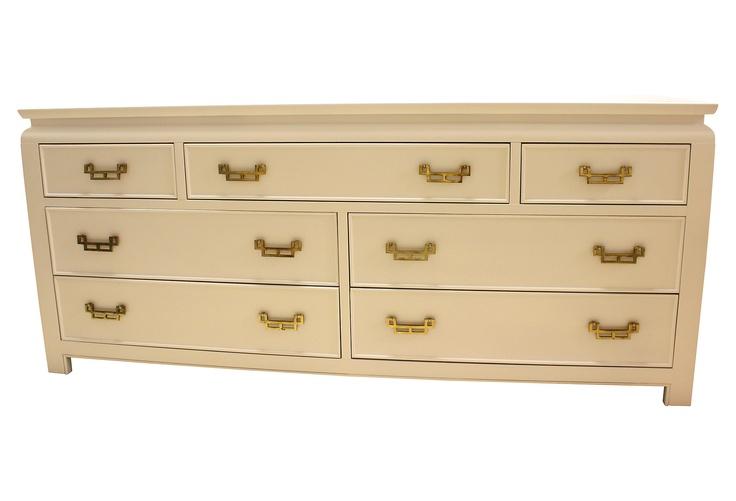 Best Long White Asian Inspired Dresser One Kings Lane 400 x 300