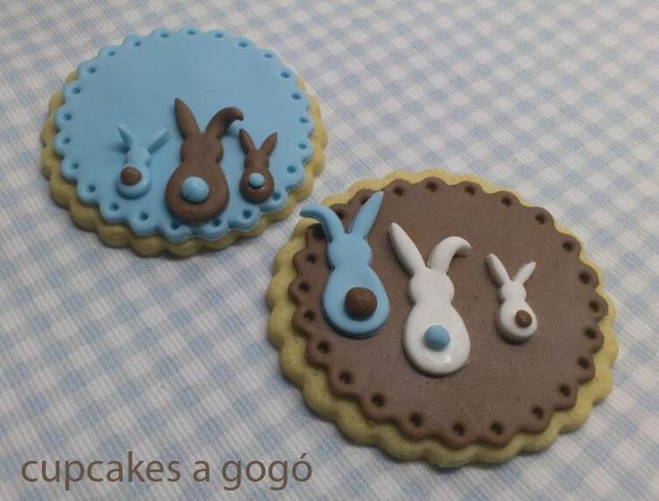 Easter Bunny Sugar Cookies ~ Cupcakes A GoGo