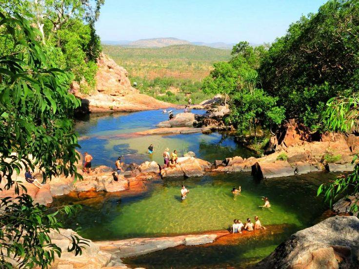 Gunlom Falls Kakadu Northern Territory Australia