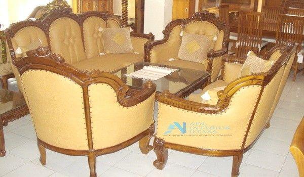 Kursi Tamu Sofa Ganesa Royal Jambu Code AIJ KT 0015