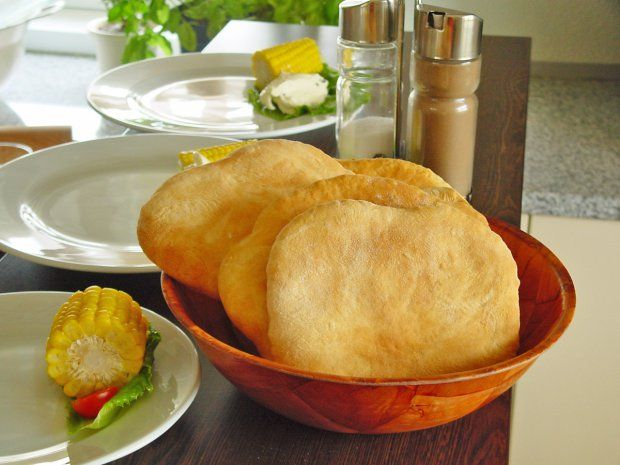Fladen aus Kichererbsenmehl (Low Carb Vegan Bread)