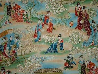 Robert Kaufman - Oriental Traditions 7 ETJM-9503-200 VINTAGE