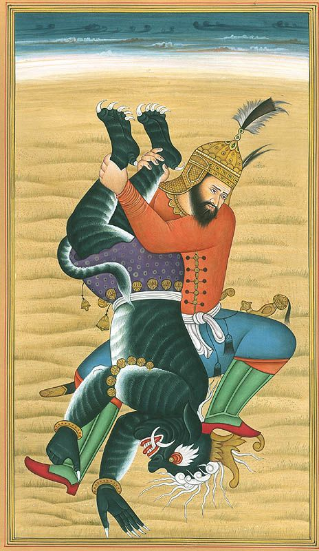 Shahnameh. Rostam vs Div, maybe. Can a book be a favourite if you haven't finished reading it yet?