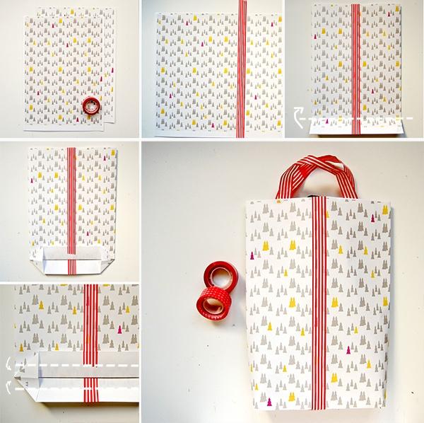 Fanny Harms: Un fácil DIY con imprimible. Como hacer una bolsa para regalos