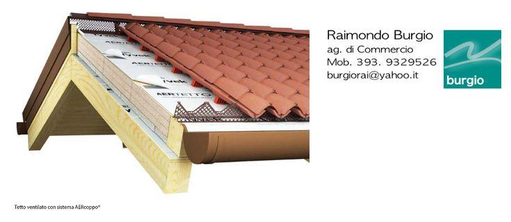 Ventilazione senza Listellatura e senza fori grazie al Sistema di Tetti Italiani AERcoppo
