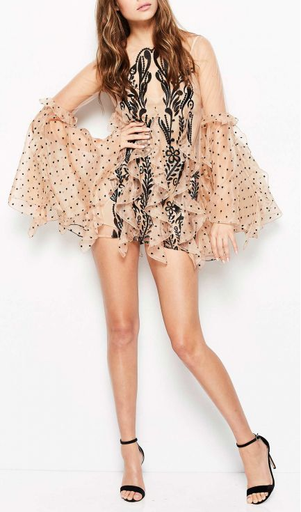 Alice McCALL - Nothing But You Dress - Nude/Black