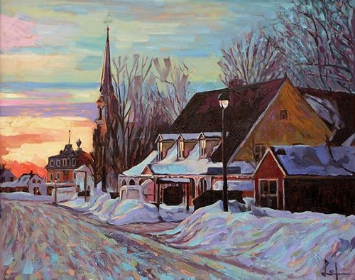 Clarence gagnon recherche google art hiver pinterest - Le comptoir des arts saint paul trois chateaux ...