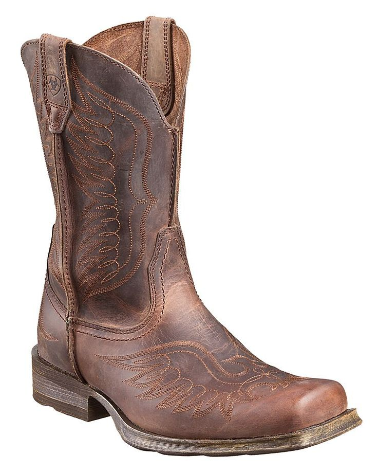 Ariat® Rambler Phoenix 11'' Western Square Toe Work Boots for Men | Bass Pro Shops