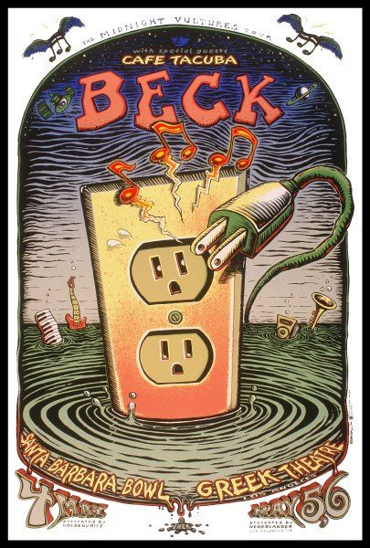 Beck+ Café Tacuba (The midnight vultures tour)