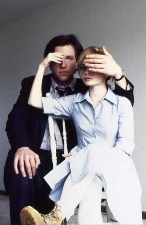 """Adrienne Shelly and Martin Donovan - Photo Shoot for """"Trust"""""""